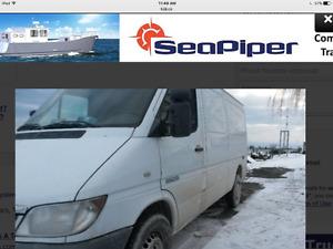 Dodge sprinter diesel cargo