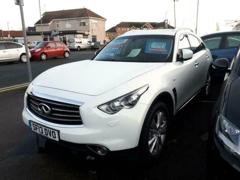 2013 Infiniti FX FX30 3.0 V6 Diesel Automatic From £14,195 + Retail Package SUV