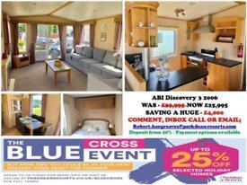Static Caravan For Sale in Norfolk - Great Yarmouth - BLUE CROSS SALE