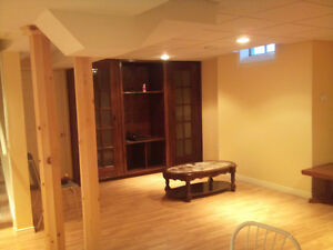 800 Basement Apartment For Rent (Milton, James Snow and Main)