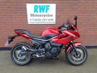 Yamaha XJ6 DIVERSION, 2009, 59 REG, ONLY 2 OWNERS & 7,620 MILES WITH SH