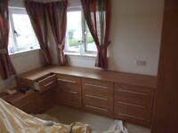 2/3 Drawer Bedroom Furniture + Blanket Storage