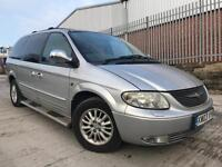 CHRYSLER GRAND VOYAGER LIMITED 2.5 CRD DIESEL 7 SEATER MPV*SPARES OR REPAIRS*