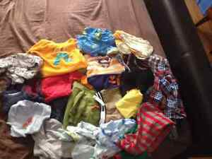 Baby clothes, mostly carters/oshkosh