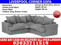 BRAND NEW Liverpool Corner sofa Middlebury