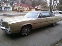 1977 CHRYSLER NEW YORKER PRICE REDUCED
