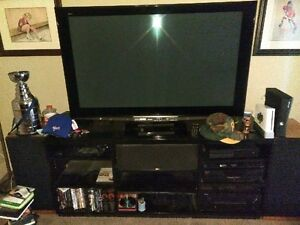 A/V stand and Home theater center and rear speakers