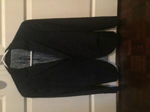Men's size 30R.   2 piece suit Blue suit.