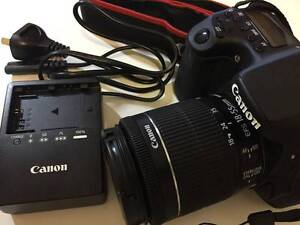 ALMOST NEW! CANON EOS 70D BODY + 18-55mm IS STM + BAG Victoria Park Victoria Park Area Preview