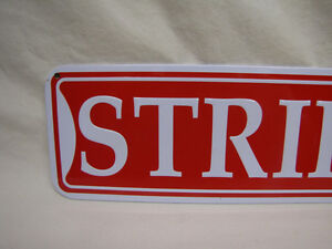 New STRIPPER STREET Novelty Metal Street Sign London Ontario image 2