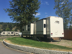 Shuswap Waterfront Lot for Sale AND Cottage Trailer