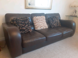 Sofa + chair John Lewis