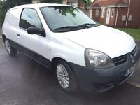 *LOW LOW MILES* 2008 CLIO DCI VAN *ONLY 46K FROM NEW* ONE OWNER *NO VAT* FULL SERVICE HISTORY