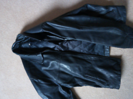 Trader jeans company XL Quality leather jacket.
