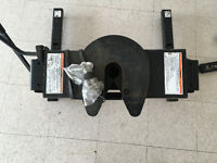 Draw tight 5 th wheel adjustable hitch