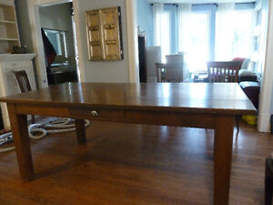 Custom Junktiques Dining table