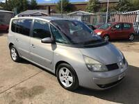 Renault Espace 2.2dCi Auto Privilege + 2005 + AUGUST 17 MOT + CLEAN EXAMPLE