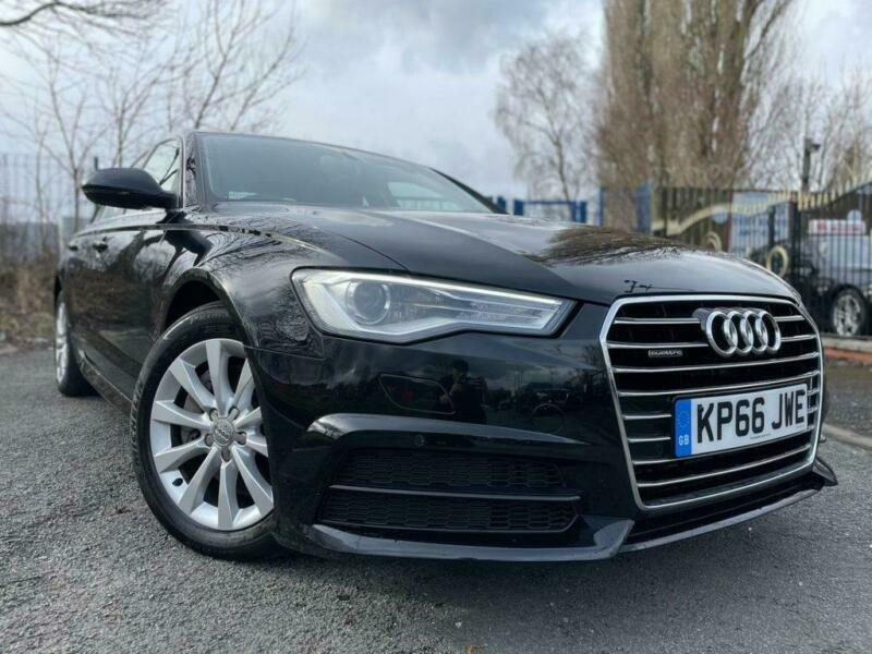 2016 66 AUDI A6 3.0 TDI QUATTRO SE EXECUTIVE 4D 268 BLACK DIESEL-1OWNER FROM NEW