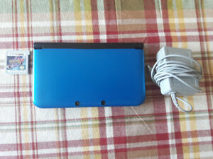 Nintendo 3DS Blue w/ Charger and Pokemon Y Version