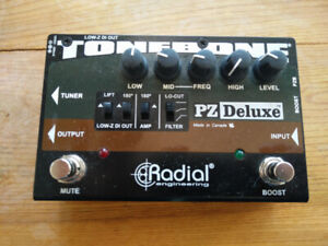 Radial PZ-Deluxe Acoustic Instrument Preamp
