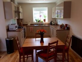 Last min deal on double room in ultra modern apt close to central london