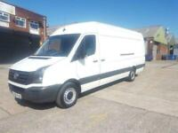 2016 65 VOLKSWAGEN CRAFTER XLWB / EXTRA LONG WHEEL BASE HIGH ROOF 6 SPEED 163 BH