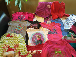 Large lot of girls clothing size 4 Windsor Region Ontario image 2
