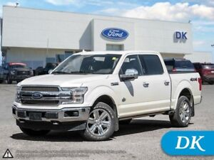 2018 Ford F-150 King Ranch 3.5L w/Leather, Moonroof, Nav, and Mo