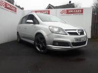 2007 56 VAUXHALL ZAFIRA 1.9CDTi 16v SRi WITH FULL XP PACK.150PS,ANY PX WELCOME .