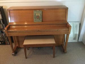 Vintage Wurlitzer studio piano