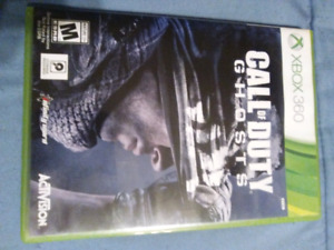 Xbox 360 Call of duty ghost