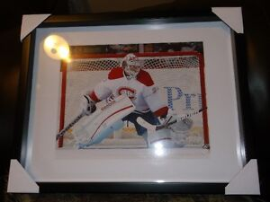 CAREY PRICE FRAMED PHOTO MONTREAL CANADIENS BRAND NEW