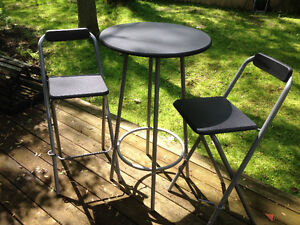 Bar Set (Bistro Table and Chairs)
