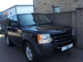 06 56 LANDROVER DISCOVERY 3 2.7 TD V6 AUTO 5DR DIESEL BLACK LOW MILES BLUETOOTH