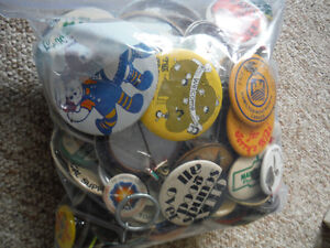 XL Bag Of Pin Back Buttons Peterborough Peterborough Area image 1