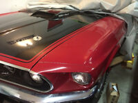 1969 FORD MUSTANG MACH I - Restoration Project