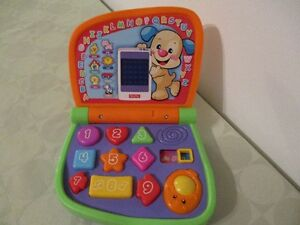 ORDINATEUR  CHIEN  PUPPY  DE  FISHER  PRICE((  FR-ENG ))