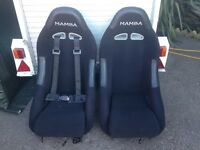Classic Mini Mamba Bucket Seats