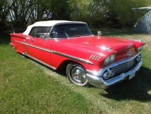 1958 CANADIAN CHEVROLET IMPALA CONVERTIBLE...409 TRIPOWER