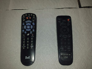 3 Bell Satellite Receivers and 2 Remotes