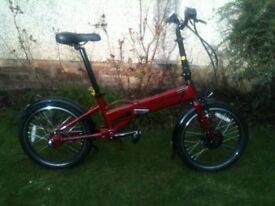 Electric folding bike - Great bargain!