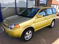 2001 Honda HR-V 1.6i CVT - 7 Stamp - Mot Until NOV17