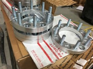 """8x6.5 wheel spacers 1"""" thick"""