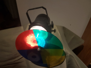 Hanging Rotating Colour Party Lights
