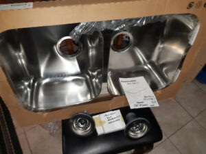 KITCHEN SINK Double stainless steel Brand New