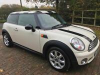 MINI ONE 1.4 ONLY 62,000 GENUINE MILES IN WHITE WITH 1 PREVIOUS OWNER