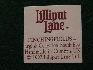 "Lilliput Lane ""Finching Fields"" Figurine London Ontario image 6"