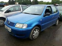 2001 VOLKSWAGEN POLO MATCH NOW BREAKING FOR PARTS