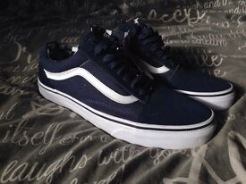 Brand new vans shoes