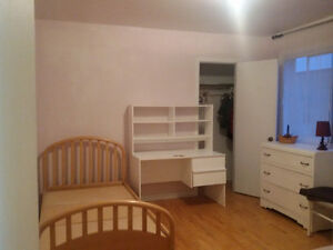 Spacious room - 5 min from Pie-IX station